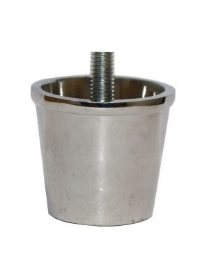 Excelsior Chrome Slipper Cup with Threaded Bolt