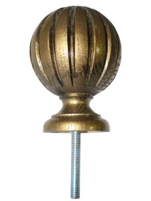 Freesha Reeded Wooden Knowle