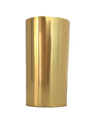 Mondrian Polished Brass slipper Cup For Furniture