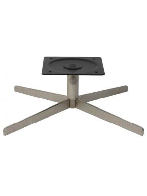 Oslo Chair Swivel Base Brushed Nickel