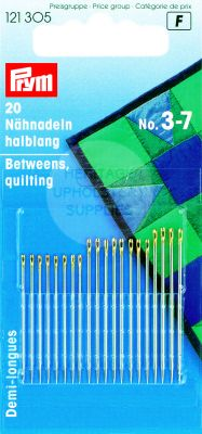 Hand Sewing Needles Sharps 3-7