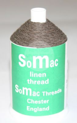 Somac Linen Thread Brown