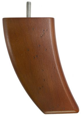 Antique Curved Back Furniture Legs Tall
